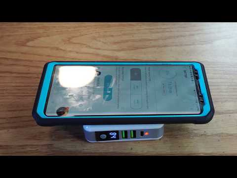 Portable Wireless Qi Charging Power Bank Review