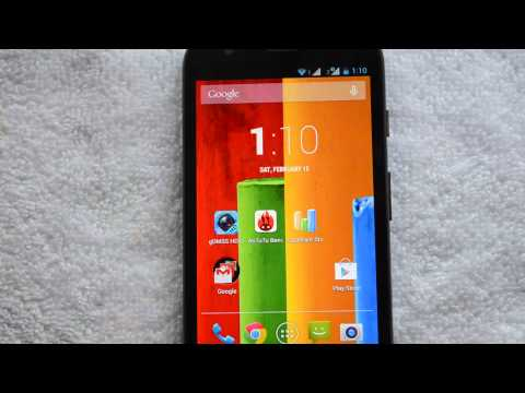 Android 4.4.2 KitKat Update for Motorola Moto G Dual SIM