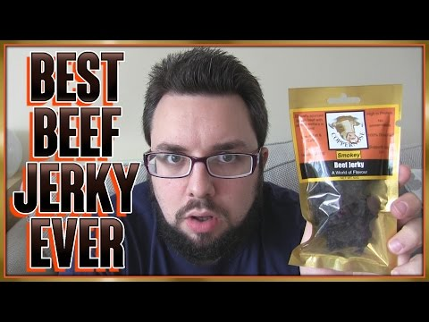 Coppernose Craft Jerky Review   Best Beef Jerky EVER!