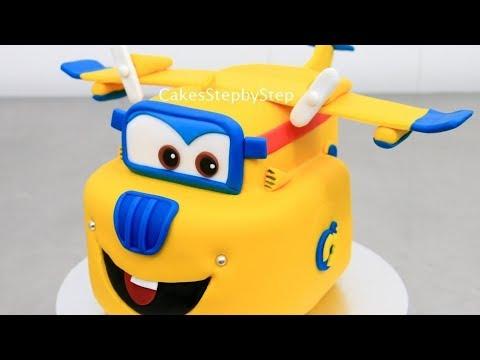 SUPER WINGS  CAKE - Kids Cakes  슈퍼 날개 케이크