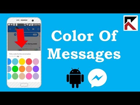 How To Change The Color Of Messages In Facebook Messenger Android