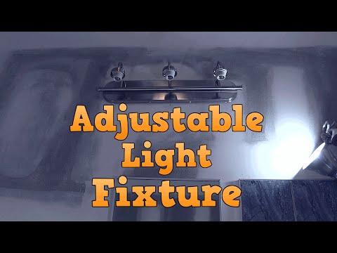 Making a Light Fixture Adjustable