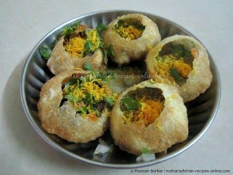Pani Puri, how to make pani puri at home