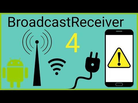 BroadcastReceiver Tutorial Part 4 - EXPLICIT BROADCASTS - Android Studio Tutorial