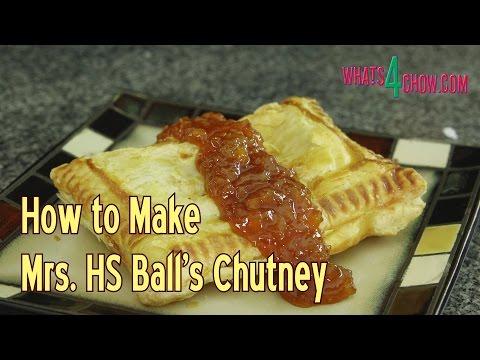 How to Make Mrs Ball's Chutney - Easy to Make Mrs Ball's Chutney Recipe