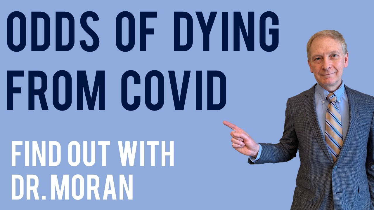 Odds of Dying from COVID-19 - COVID Fatality Rate