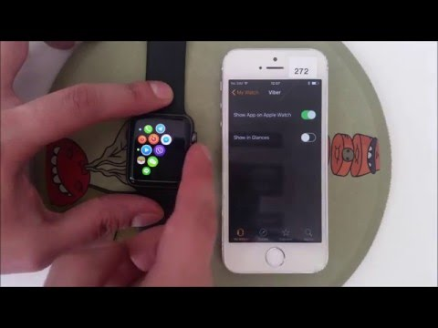 01 - Install Viber on Apple Watch