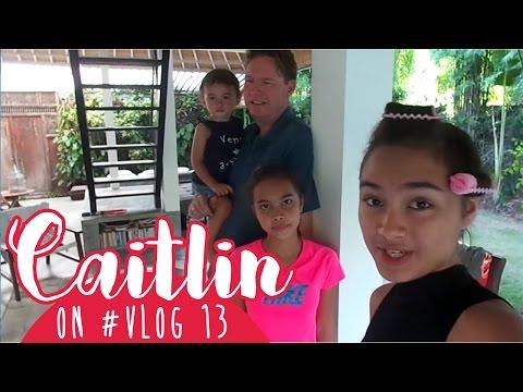 Caitlin on #VLOG 13 Kabuuuurrrr :3