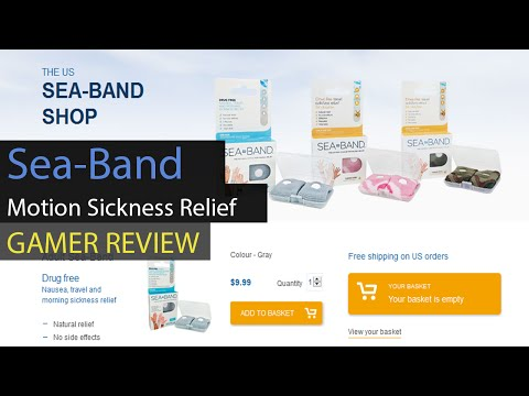 The cheap $8 cure for Video Gaming Motion Sickness?? Sea-Band Bracelet Review