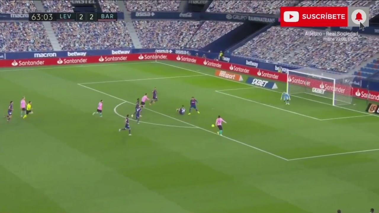 Ousmane Dembélé GOAL VS LEVANTE UD 2-3
