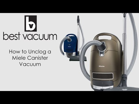 How to Unclog A Miele Canister Vacuum