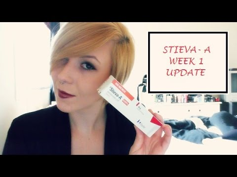Stieva-A / Retin-A Skin CareTreatment Week 1 Update