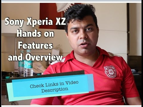 Hindi | Sony Xperia XZ First Opinion, India Price, Overview | Gadgets To Use