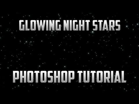 Glowing Stars Night Sky | Photoshop Tutorial