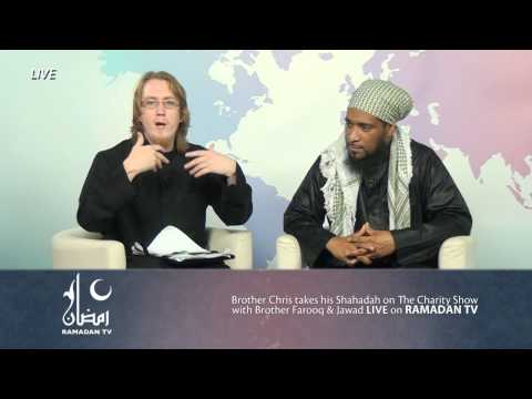 A Christian accepts Islam Live on Ramadan TV ! #LoveRamadan