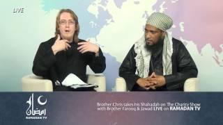 A Christian accepts Islam Live on Ramadan TV ! #LoveRamadan