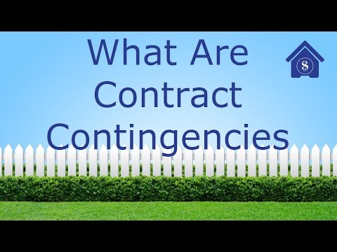 What are contract contingencies in a home purchase?  Can you lose your deposit?