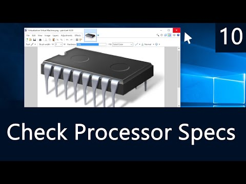 Windows 10 - How to Check Which CPU or Processor You Have