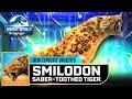 SMILODON SABER-TOOTHED TIGER 剑齿虎 NEW EPIC UNLOCKED【Jurassic World Alive 侏羅紀世界Alive】