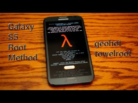 How To: Root Samsung Galaxy S5 AT&T Verizon geohot