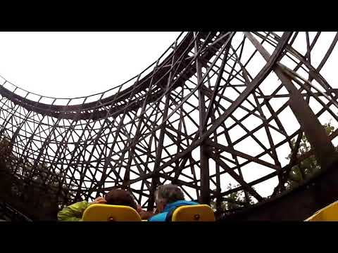 😁 Grizzly Rollercoaster - Kings Dominion - ON-RIDE  - 2017 (NEW) ✅