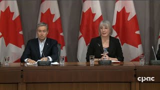 Federal ministers and health officials provide COVID-19 update - March 21, 2020