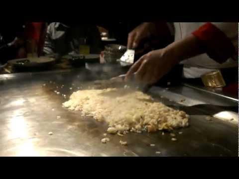 Shrimp Fried Rice Show