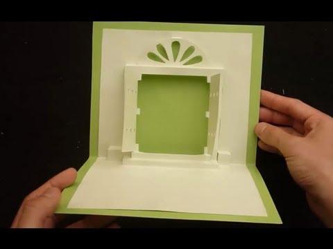 Heaven's Door Pop Up Card Tutorial, Origamic Architecture