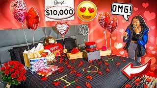 SURPRISING MY GIRLFRIEND FOR VALENTINES DAY!!!! ❤️