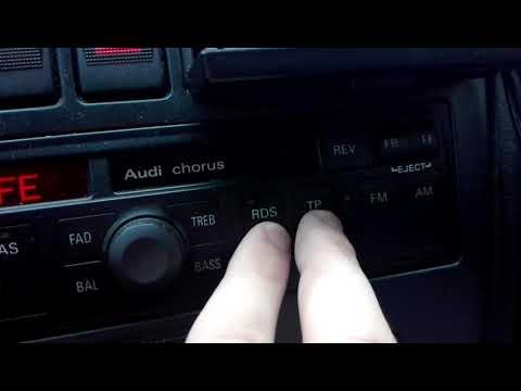 Audi chorus safe code