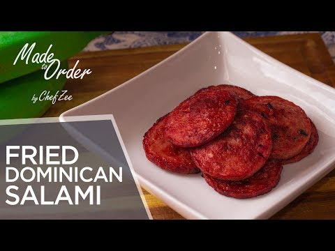 Dominican Salami | Mangu Series Ep. 4 | Made To Order | Chef Zee Cooks