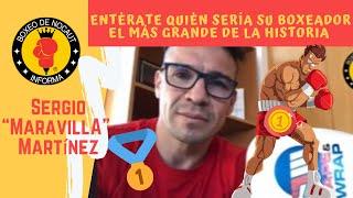 """El boxeador más grande de la historia hecho por Sergio """"Maravilla"""" Martínez"""