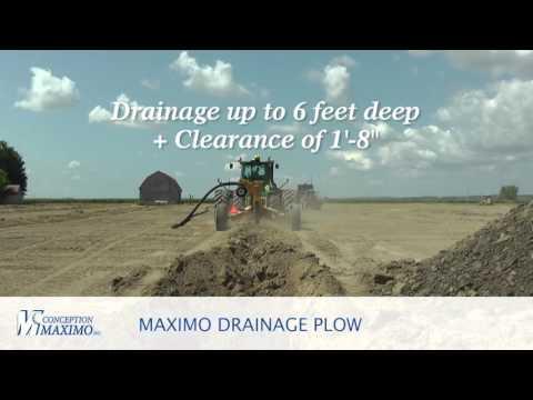 Maximo Drainage Plow