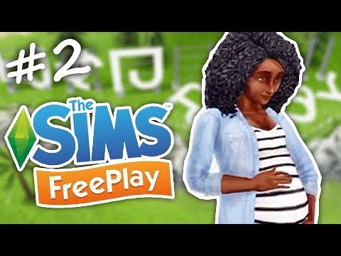 GROWING A BUMP // THE SIMS FREEPLAY - PREGNANCY UPDATE #2