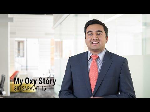 My Oxy Story: Sid Saravat '15