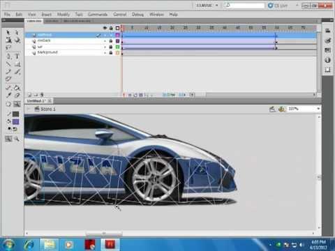 Car Move adobe flash cs5 By MZ Studio