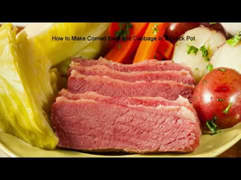 How to Make Corned Beef and Cabbage in a Crock Pot