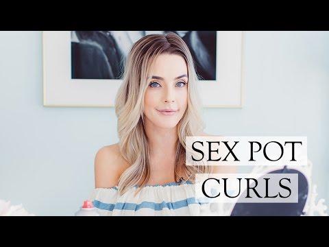 Xxx Mp4 SEX POT CURLS Last Minute Hairstyle Idea 3gp Sex