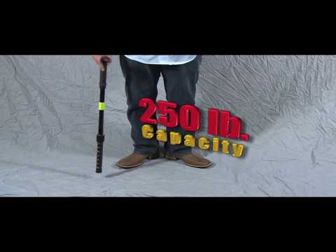 Walking Cane  with built-in Flashlight and Stun Gun