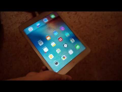 screen upside down iPad Air bug