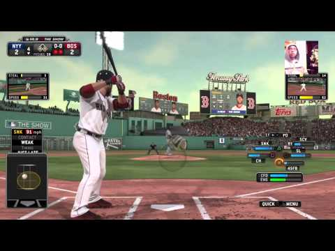 MLB 2015 ROSTERS YANKS@ RED SOX MLB THE SHOW