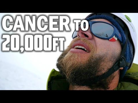 4 Months After Chemotherapy I Went To Climb a 20,000ft Mountain