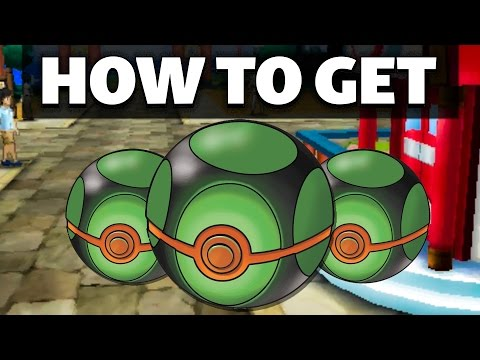 HOW TO GET Dusk Balls in Sun and Moon | Pokemon Sun and Moon