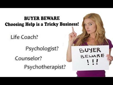 Coaches & Psychotherapists Aren't the Same. An Abuse Survivor Isn't Enough. Host: Kristin Walker