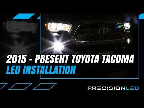 Toyota Tacoma LED Fog Light How To Install - 3rd Gen | 2015+