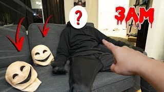 WE FINALLY UNMASKED SMILEY MONSTER FOR REAL AT 3 AM!! (YOU WON