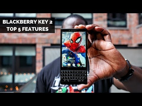 Blackberry KEY2 : Top 5 Features