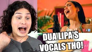 Vocal Coach Reacts to Dua Lipa's Tiny Desk (Live Singing)