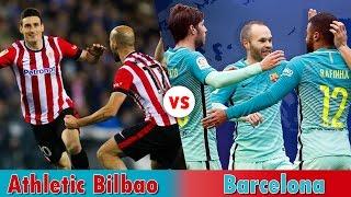 Athletic Bilbao vs  Barcelona 2017 Live Streaming Copa del Rey   Preview: January 4, 2017