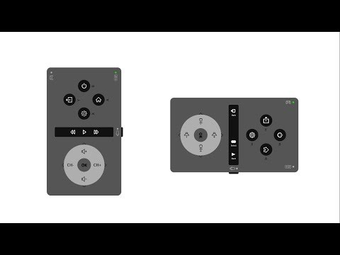 Remote for Smart TV - Paper Prototype